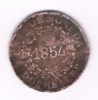 DOS REALES 1854 ARGENTINIE /1498/ - Argentinië