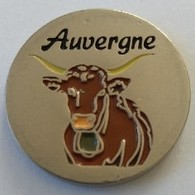 Jeton De Caddie - Région - Auvergne - En Métal - Neuf - - Munten Van Winkelkarretjes