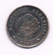 1 CENTAVO 1890 ARGENTINIE /1499/ - Argentinië