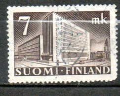 FINLANDE  Hotel Des Postes Helsinki 1943-45 N° 265 - Finlande