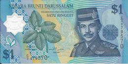 BRUNEI   1  Dollar   1996   ---UNC---  Polymer - Brunei