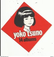 Autocollant - YOKO TSUNO - 14 Albums - Autocollants