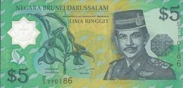 BRUNEI   5  Dollars   1996   ---UNC---  Polymer - Brunei