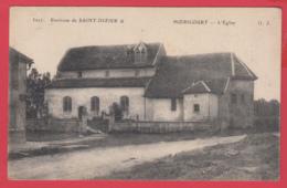 CPA-52- HOERICOURT, Près St-Dizie - L'Eglise * Ed. Gauthier * 2 SCAN- - Frankreich