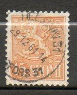 FINLANDE  15m Ocre 1954-58 N° 413a - Finlande
