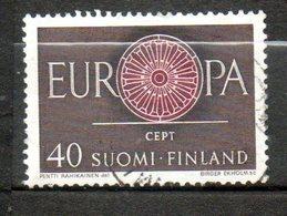 FINLANDE  Europa 1960 N° 502 - Finlande