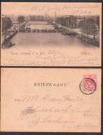 Carte Postale Vlissingen Nieuwe Schipbrug En De Werf, 1902, Werft, Vlissienge - Vlissingen