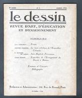 LE DESSIN , REVUE D'ART, N°5 , Octobre 1931, Nombreuses Illustrations Dont 10 De FORAIN - 1900 - 1949