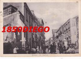RESINA - VIA  PUGLIANO F/GRANDE VIAGGIATA 1957 ANIMATA - Ercolano