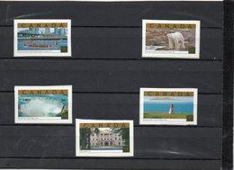 CANADA   5 Timbres De Carnet 1,25 $        2003    Y&T: 2005 à 2009   Neufs Sans Charnière - Einzelmarken