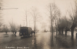 RPCP : Jemappes, Paardentram, Tram Tiré Par Des Chevaux, Photo Of Old Postcard, 2 Scans - Places