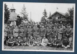 Adelboden ( Suisse ) Mission Militaire Franco Polonaise  Avril 1940 - Guerre 1939-45