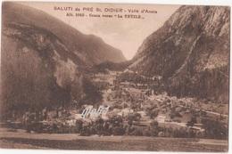Aosta Pre St Didier Conca Verso La Thuile - Italy