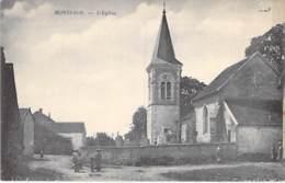 52 - MONTSAON : L'Eglise - CPA Village ( 770 Habitants ) - Haute Marne - Frankreich