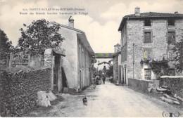 26 - SAINTE EULALIE En ROYANS : Route Des Grands Goulets Traversant Le Village - CPA ( Xxx Habitants ) - - France