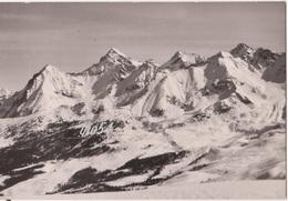 Aosta Pila Visione Panoramica Dal Quis Con Visione Tracciato Discesa Pista N 1 Fg - Italy