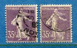 France - YT N° 136 - Oblitéré - 1906 - Frankreich