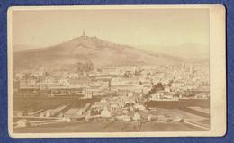 PHOTO ANCIENNE CDV - HAUTE-SAONE (70) - VESOUL - VUE GENERALE - DATEE DU 29 AOUT 1877 - Photos