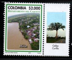 A166J-COLOMBIA - 2019-CAQUETA DEPARTMENT- MNH - MILAN CITY - Kolumbien