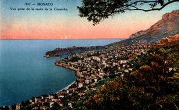 MONACO - Vue Prise De La Route De La Corniche - La Condamine