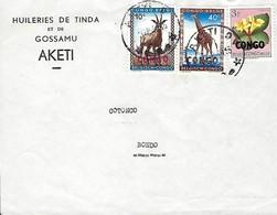 Post-Aérienne  - CONGO-BELGE  -     Republique Congo - 1923-44: Oblitérés