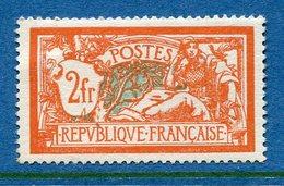 France - YT N° 145 - Neuf Sans Charnière - Signé - 1907 - Frankreich
