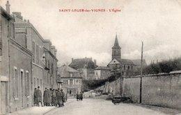 SAINT LEGER DES VIGNES-58-EGLISE - France