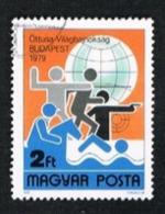 UNGHERIA (HUNGARY) - SG  3264 - 1979 PENTATHLON WORLD CHAMPIONSHIP      - USED - Ungheria