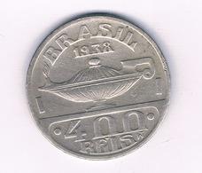 400 REIS 1938  BRAZILIE /1501/ - Brazilië