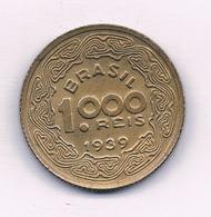 1000 REIS 1939  BRAZILIE /1502/ - Brazilië