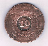 40 REIS 1828  BRAZILIE /1504/ - Brazilië
