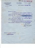 Courrier 1938 Guerre D' Espagne Saint Nazaire Courtier Maritime Navires Espagnols Consulat Nantes - Documentos Históricos