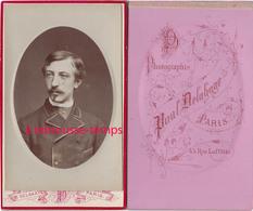 CDV Portrait D'homme Bel état-photo Delahaye à Paris - Old (before 1900)