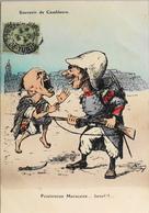 C.P.A - ILLUSTRATEUR > CHAGNY - Souvenir De Casablanca - HUMOUR MAROCAINE Daté 1908 - En TB. Etat - Chagny