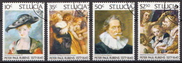 St. Lucia Used Set And SS - Art