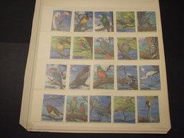 TANZANIA - 1989 UCCELLI 20 VALORI  - NUOVI(++) - Tanzania (1964-...)