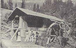 74 CHAMONIX MONT BLANC SCIRIE MECANIQUE - Chamonix-Mont-Blanc