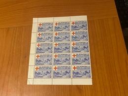 BLOC DE 15 VIGNETTES - 1FR Ligue Internationale Des Sociétés De La Croix Rouge  ( Port Offert ) - Commemorative Labels