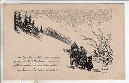 Cpa Illustrateur Cheval - Soc Bigoudane D Entr Aide Pedagogique Bagneres - Cheval