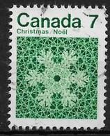 Canada 1971. Scott #555 (U) Christmas, Snowflake - 1952-.... Regering Van Elizabeth II