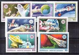 Mongolia Serie Completa Aéreo Nº Yvert 66/72 ** ASTROFILATELIA (ASTROPHILATELIA) - Mongolei