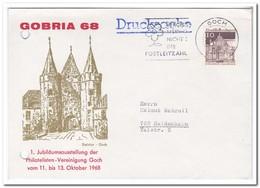 Duitsland 1968, Letter From Goch To Heidenheim - Brieven En Documenten