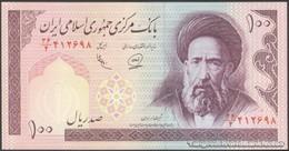 TWN - IRAN 140e - 100 Rials 1989-1994 Series 36/4 - Signatures: Adeli & Khan UNC - Iran
