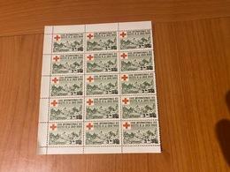 BLOC DE 15 VIGNETTES - 3FR Ligue Internationale Des Sociétés De La Croix Rouge  ( Port Offert ) - Commemorative Labels