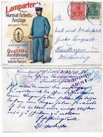 LAMPARTER'S Blaue Normal-Arbeits Anzüge - Cachts Interessants. (118044) - Publicité