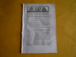 Lois An 2 : Utilisation De La Langue Française Dans Les Actes Publics.Délit Des Fonctionnaires Dans Exercice Fonction - Decrees & Laws