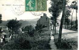 N°4094 T -cpa Méry Sur Oise -route De Pontoise- - Mery Sur Oise