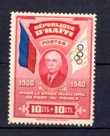 Haiti 1939, Construction Du Stade De Port-au-Prince, 277**, Cote 60 €, - Haïti