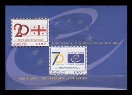 Georgia 2019 Mih. 733/34 (Bl.88) Council Of Europe MNH ** - Georgië