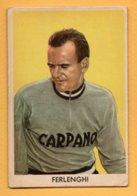 Figurina Cartonata Sidam Anni '50- Il Ciclismo - Ferlenghi Gianni N° 40 - Radsport